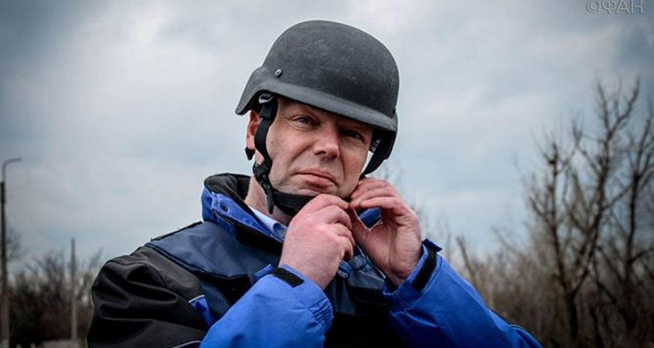 Александр Хуг - наиболее узнаваемый представитель международного сообщества на Донбассе /фото ОБСЕ/