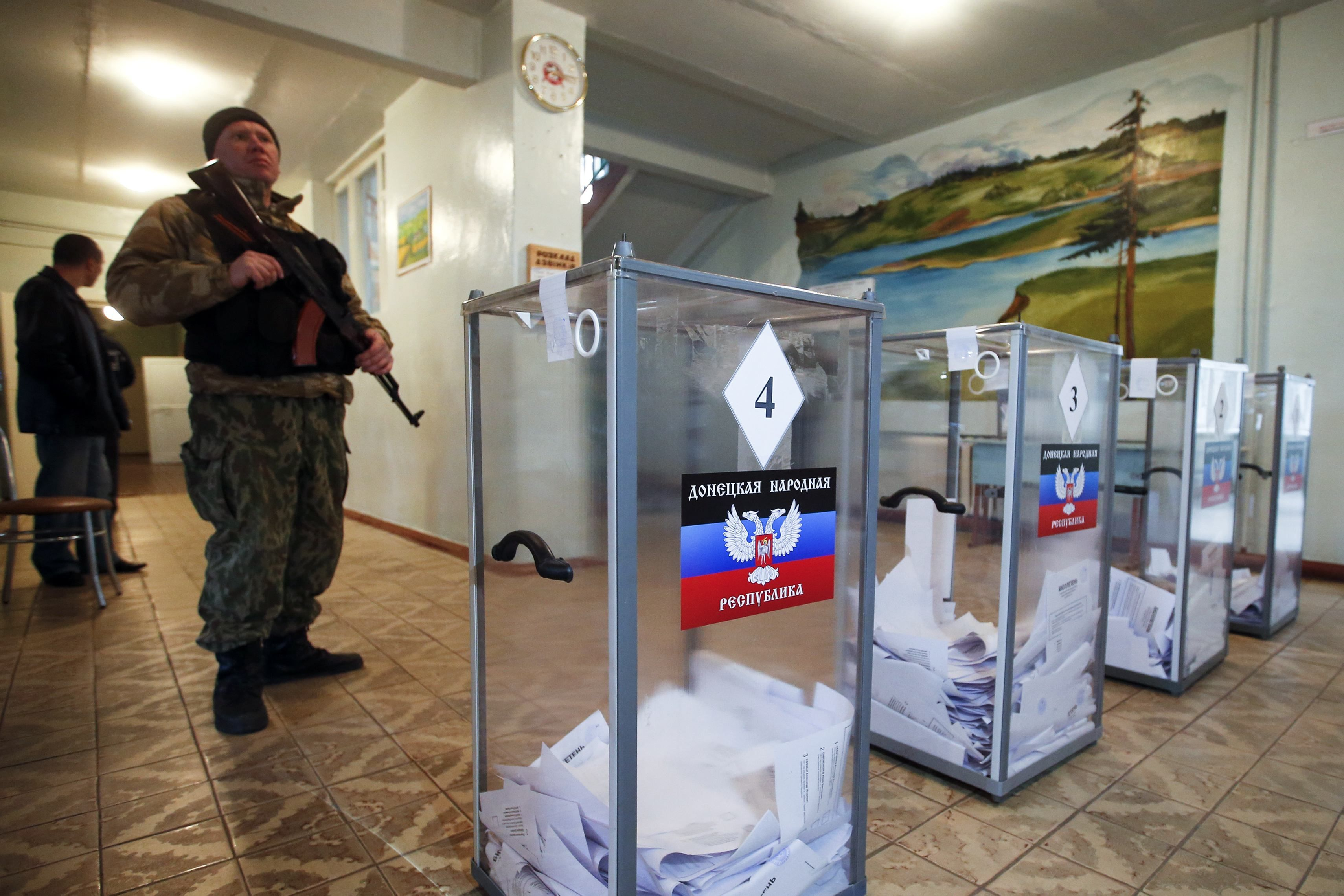 Вторые псевдовыборы в ОРДЛО, как и первые в 2014-м, не признают ни Украина, ни международное сообщество