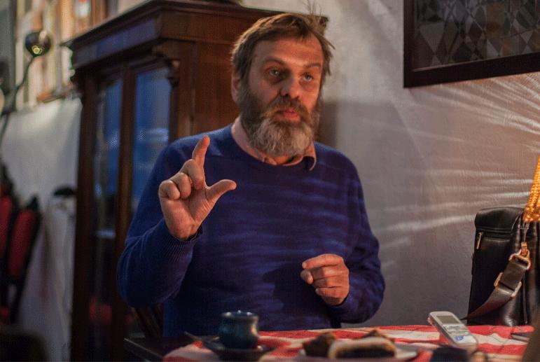 Украинский галерист Леонид Комский