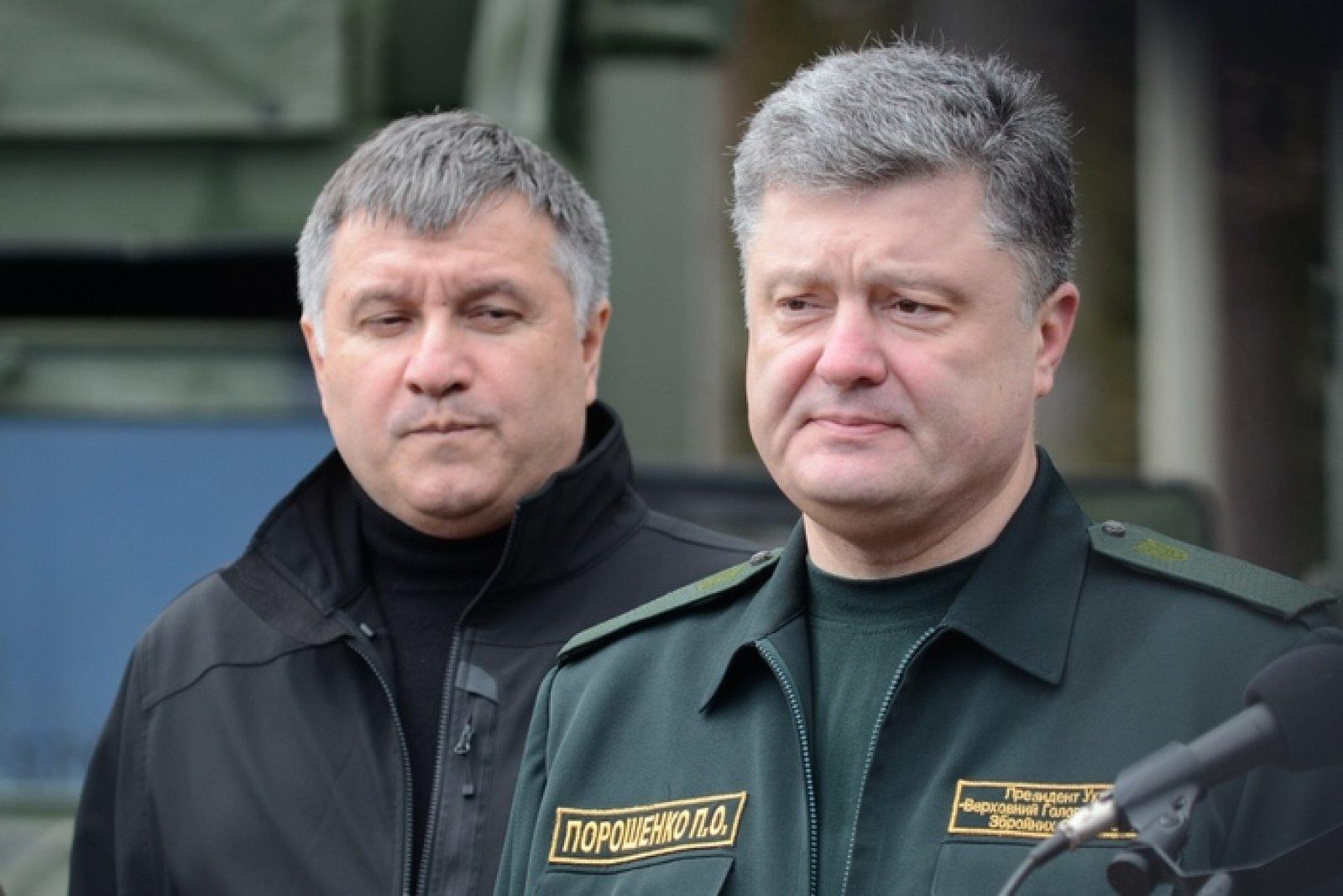 О чем ведут предвыборные торги «Народный фронт» и президент Порошенко