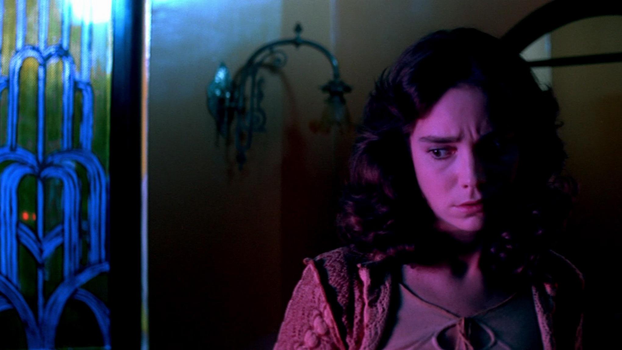 """Джессика Харпер в роли Сьюзи Бэннион в """"Суспирии"""" 1977 года"""