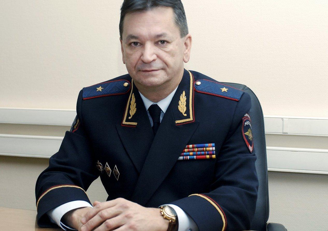 Генерал-майор МВД России Александр Прокопчук - вице-президент Интерпола