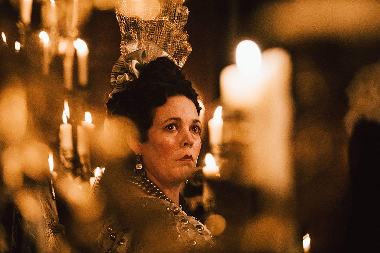 Оливия Колман в роли королевы Анны Стюарт