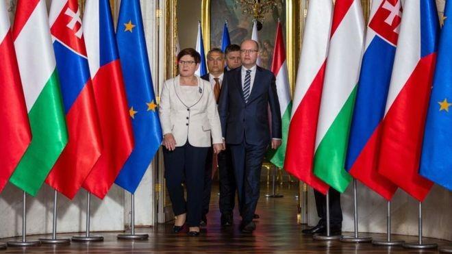 Страны Вышеградской четверки противостоят Брюсселю
