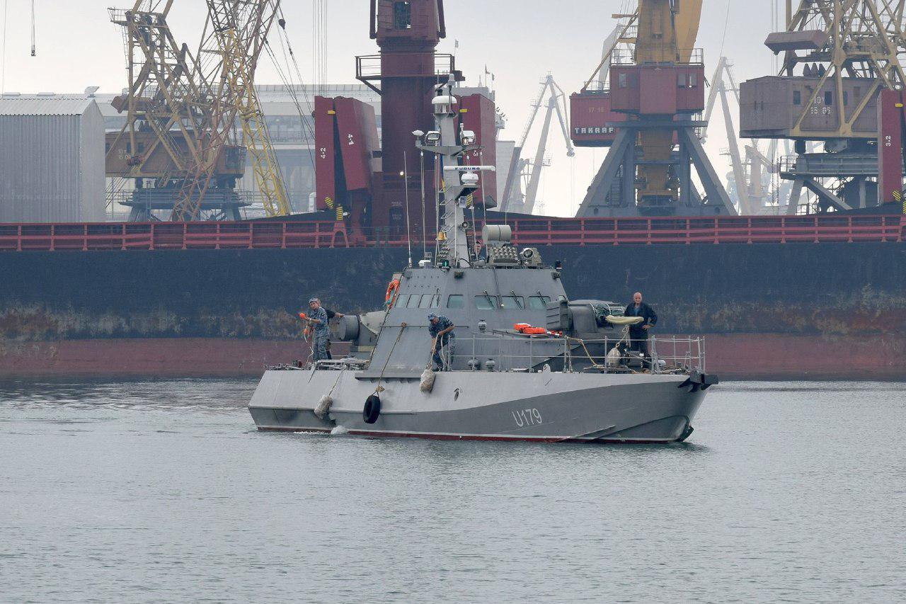МБАК (малый бронированный артиллерийский катер) «Никополь» ВМС Украины