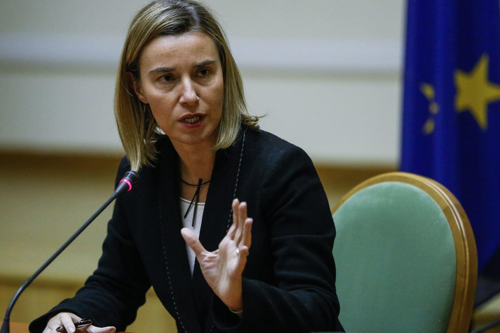 Евросоюзу нужно, если не полное решение, то заморозка конфликта на Донбассе и вокруг Крыма (на фото: Верховной комиссар ЕС по иностранным делам и политике безопасности Фредерика Могерини)