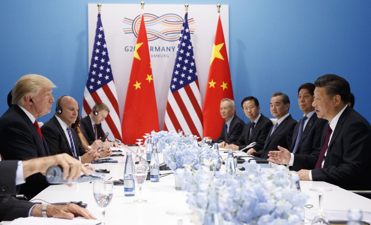 Субботний ужин президента США Дональда Трампа и лидера КНР Си Цзиньпина спас Саммит G20
