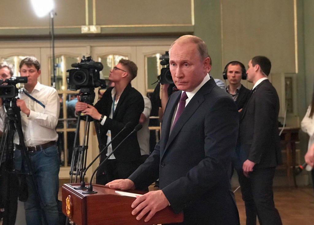 Президент Путин по полной воспользовался возможностями Саммита и рассказал все, что он думает об инциденте в Черном море 25 ноября и об украинской власти в целом