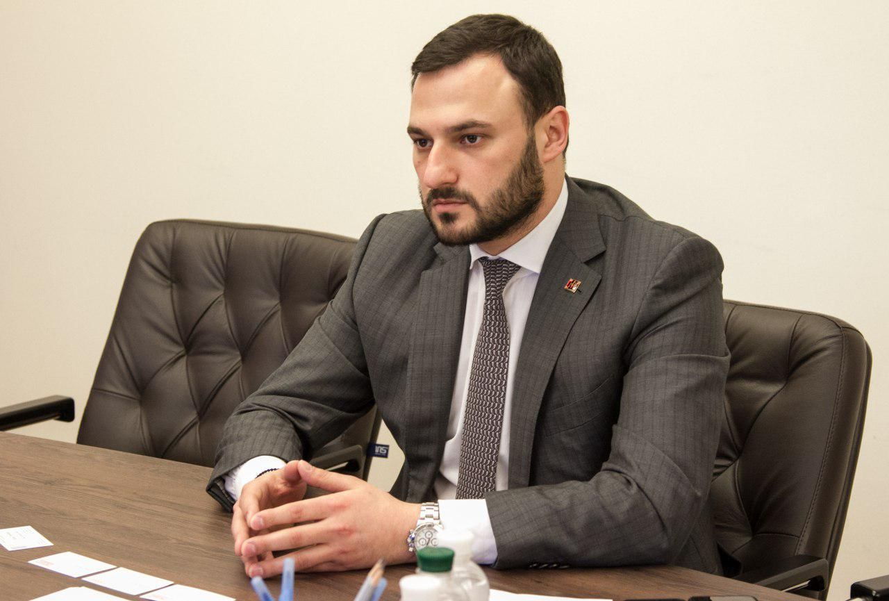 Фото: заместитель председателя КГГА Дмитрий Давтян