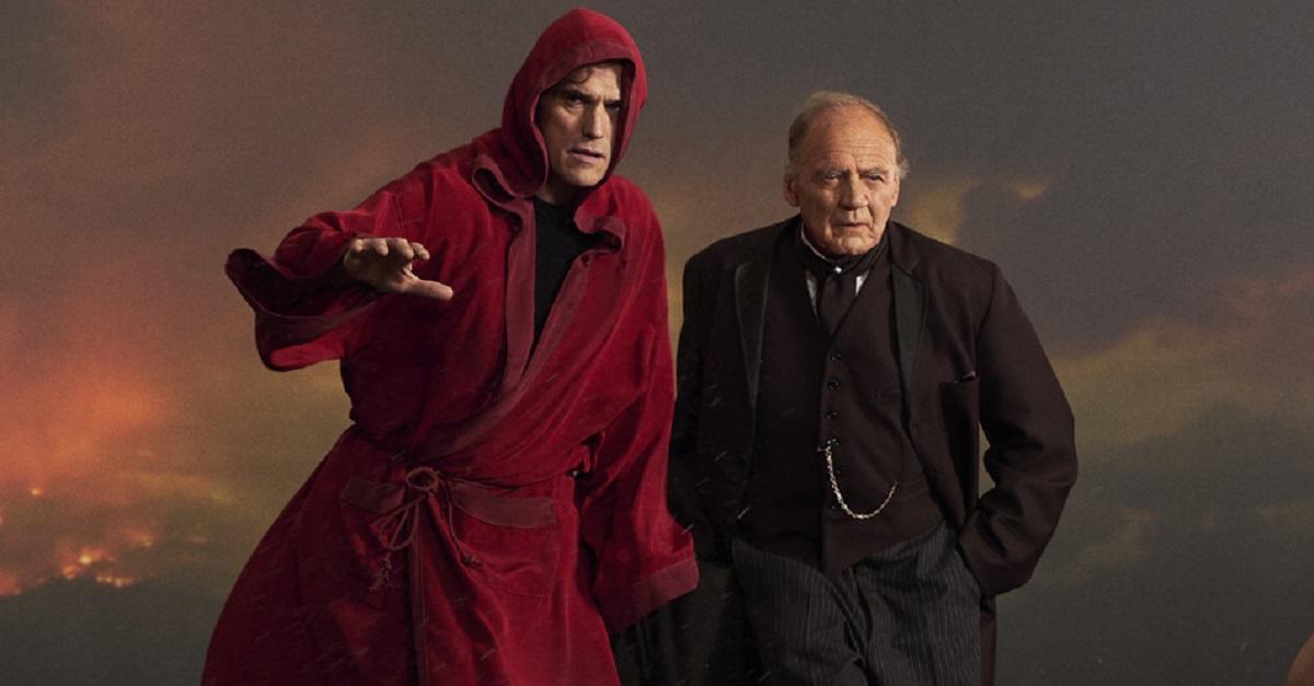 Мэтт Диллон и Бруно Ганц в роли Джека и Верджа / IMDB