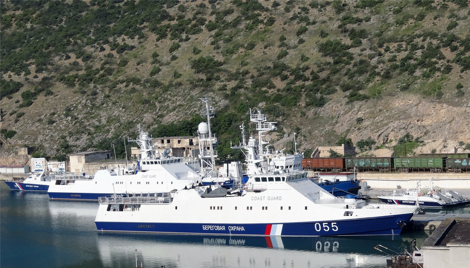 Россия самовольно установила границу в Черном море, и пограничники ФСБ патрулируют не только территориальные воды, но и прилегающую зону со свободным судоходством
