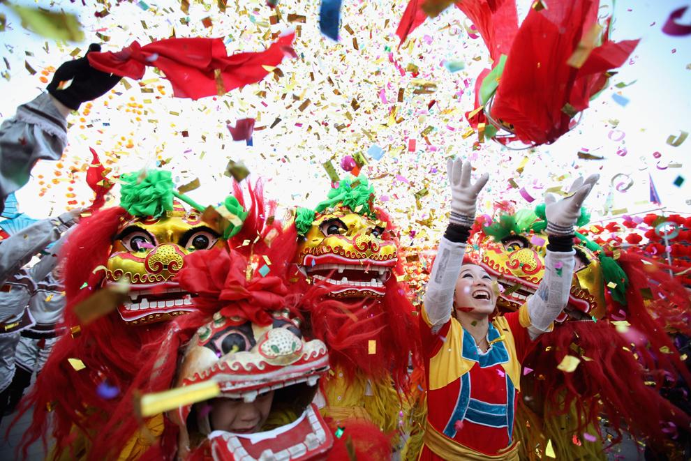 Новый год в Китае отмечают 5 февраля