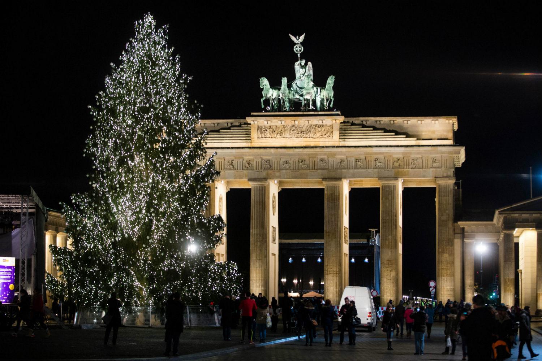 Берлин, Брандербургские ворота