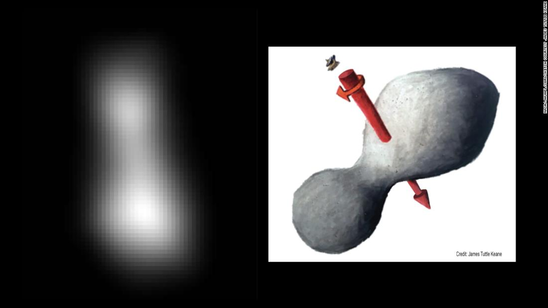 Фото/New Horizons, Ultima Thule