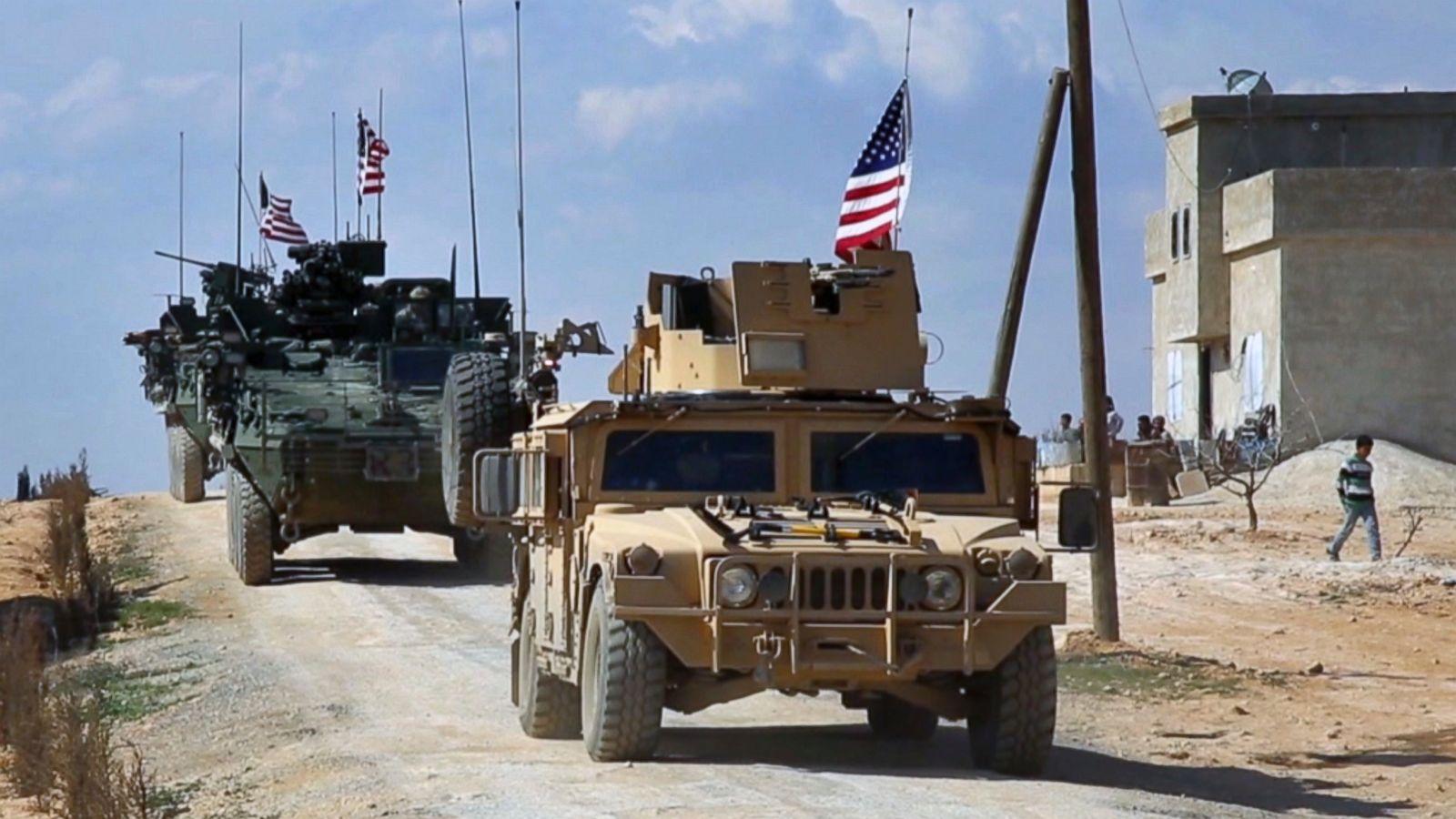 Американский военный контингент в Сирии - 2,6 тыс. человек