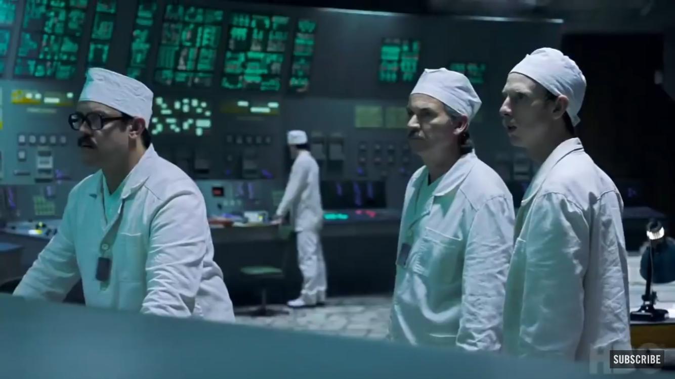 """Кадр из первого эпизода сериала """"Чернобыль"""" / HBO"""