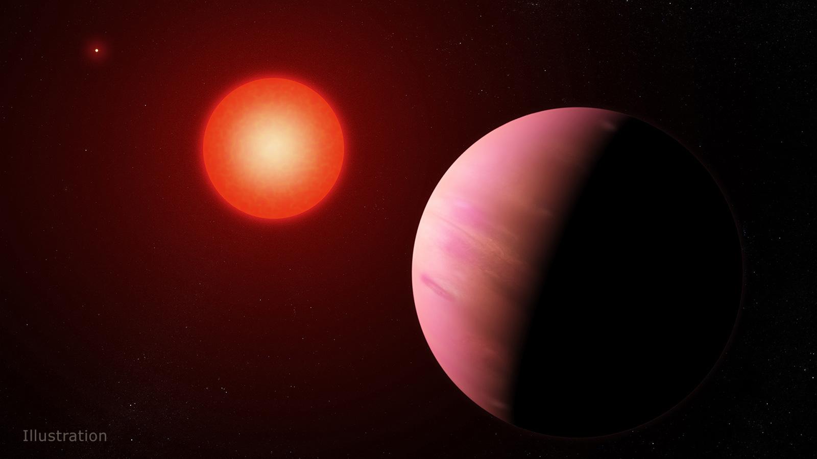 Астрономы обнаружили новейшую экзопланету, которая вдвое больше Земли