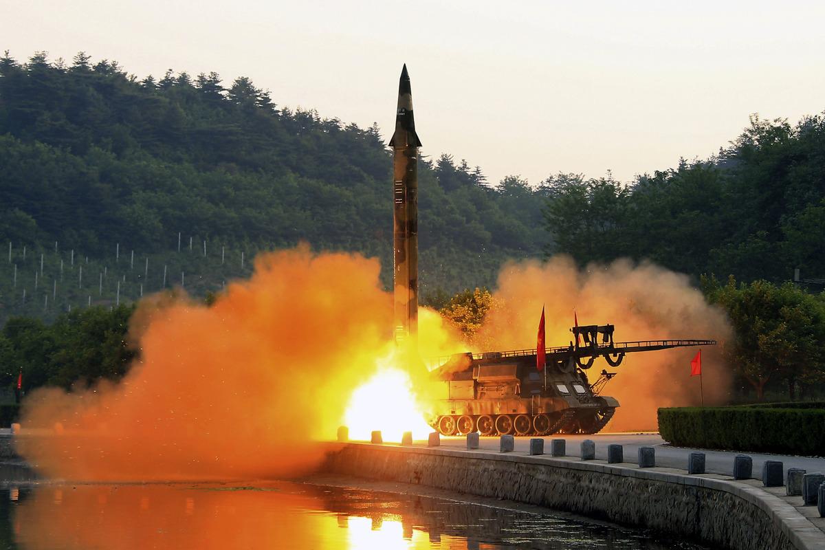 Испытания ядерного оружия в КНДР / EPA