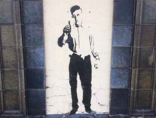Фото: Новое граффити Бэнкси (Grimsby Live)