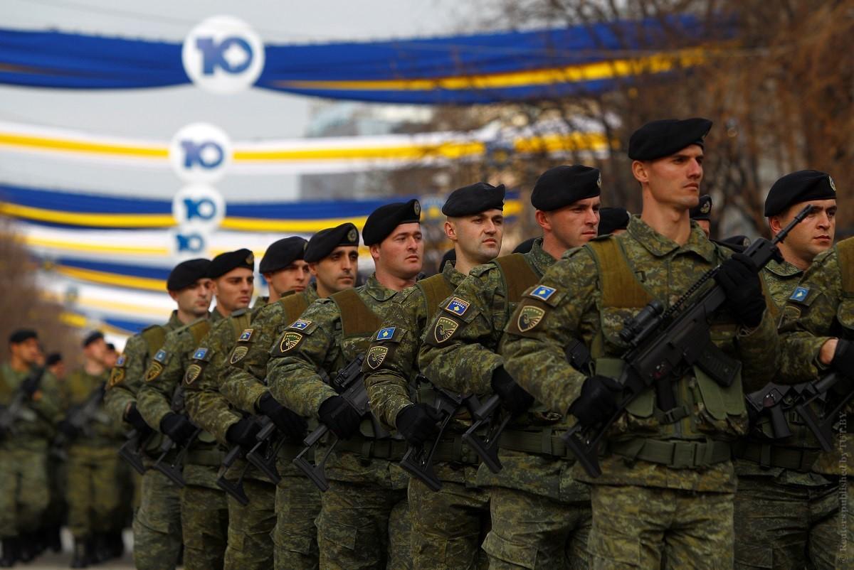 Силы безопасности Косово в течение 10 лет будут преобразованы в регулярную армию
