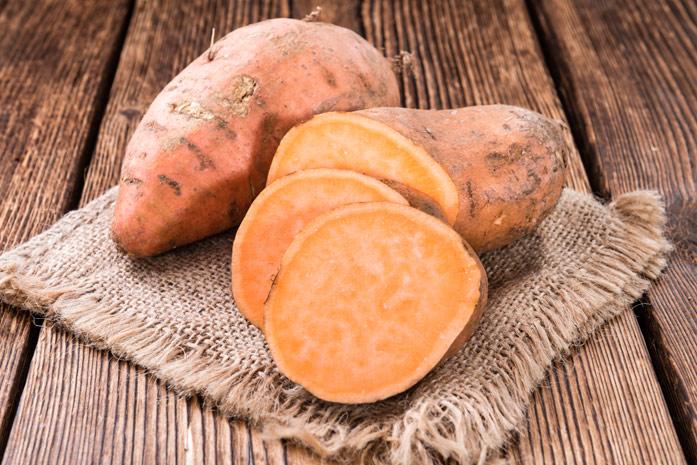 Батат (сладкий картофель) - основной компонент рациона долгожителей Окинавы