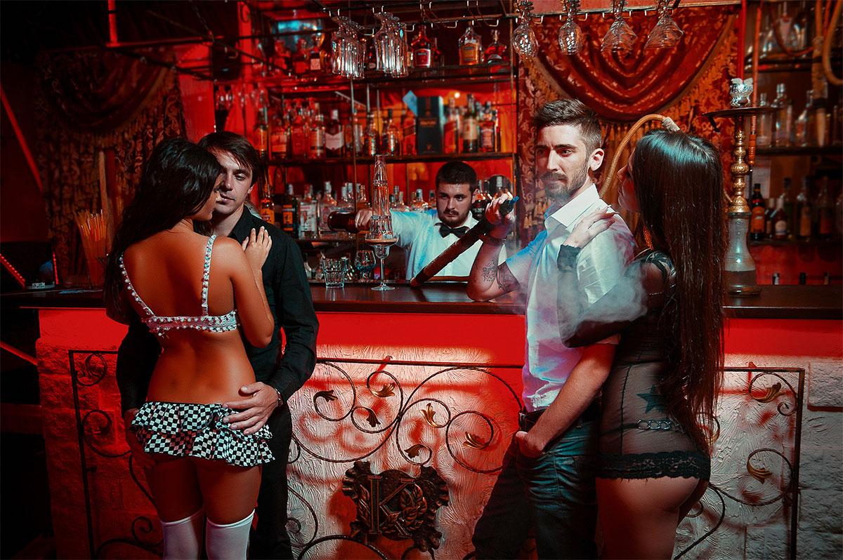 Один из ночных клубов Одессы