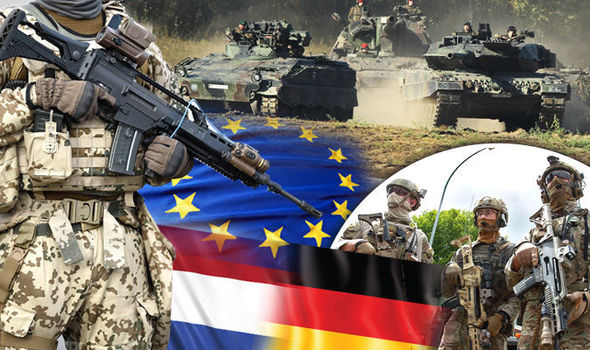 Военный союз Франции и Германии, предусмотренный Ахенским договором, может положить начало созданию армии ЕС