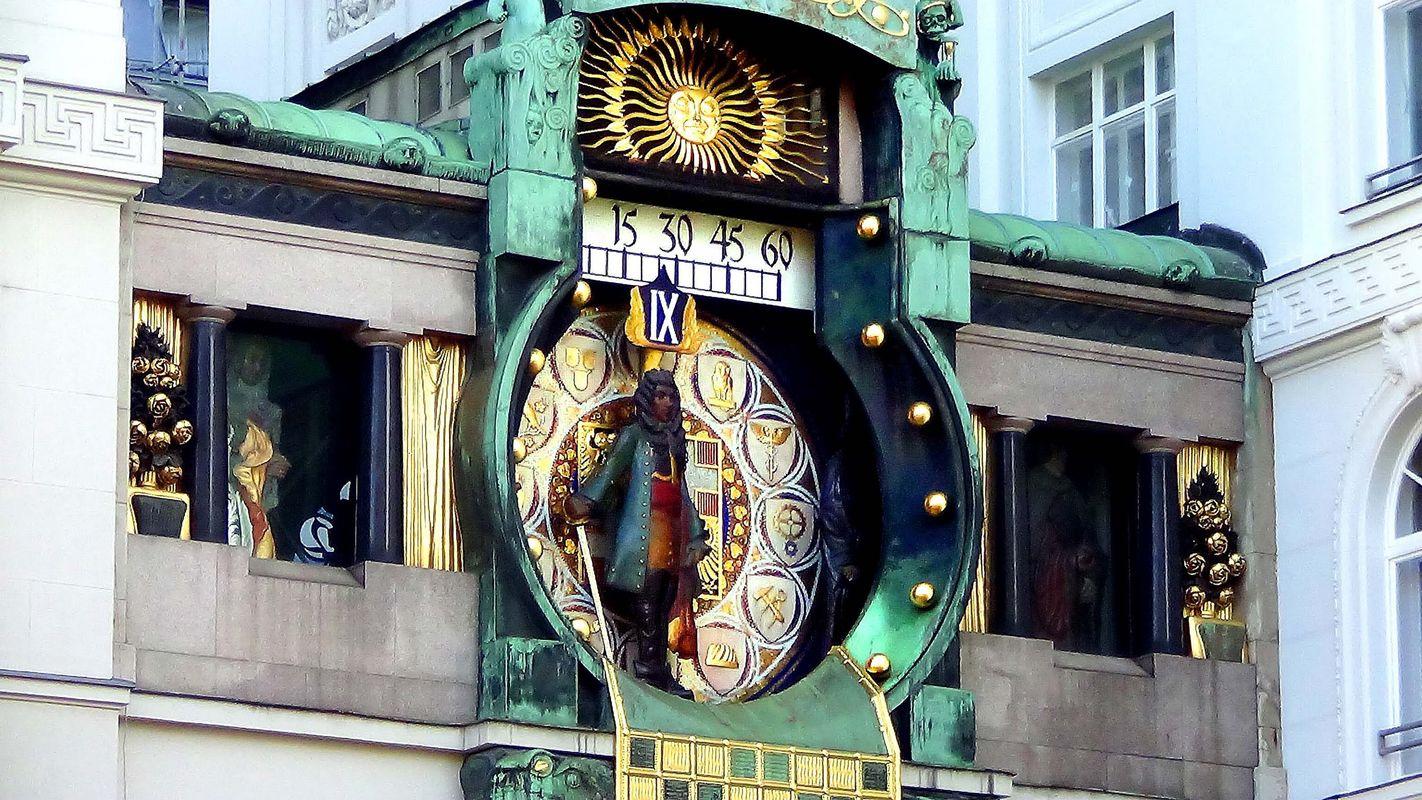 Вена считается одной из столиц астрологии в Европе (на фото знаменитые венские Астрономические часы)