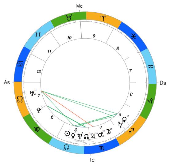 Натальный гороскоп Анатолия Гриценко