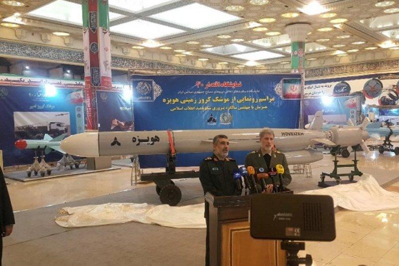 ВИране сказали  обуспешном испытании крылатой ракеты обновленного типа