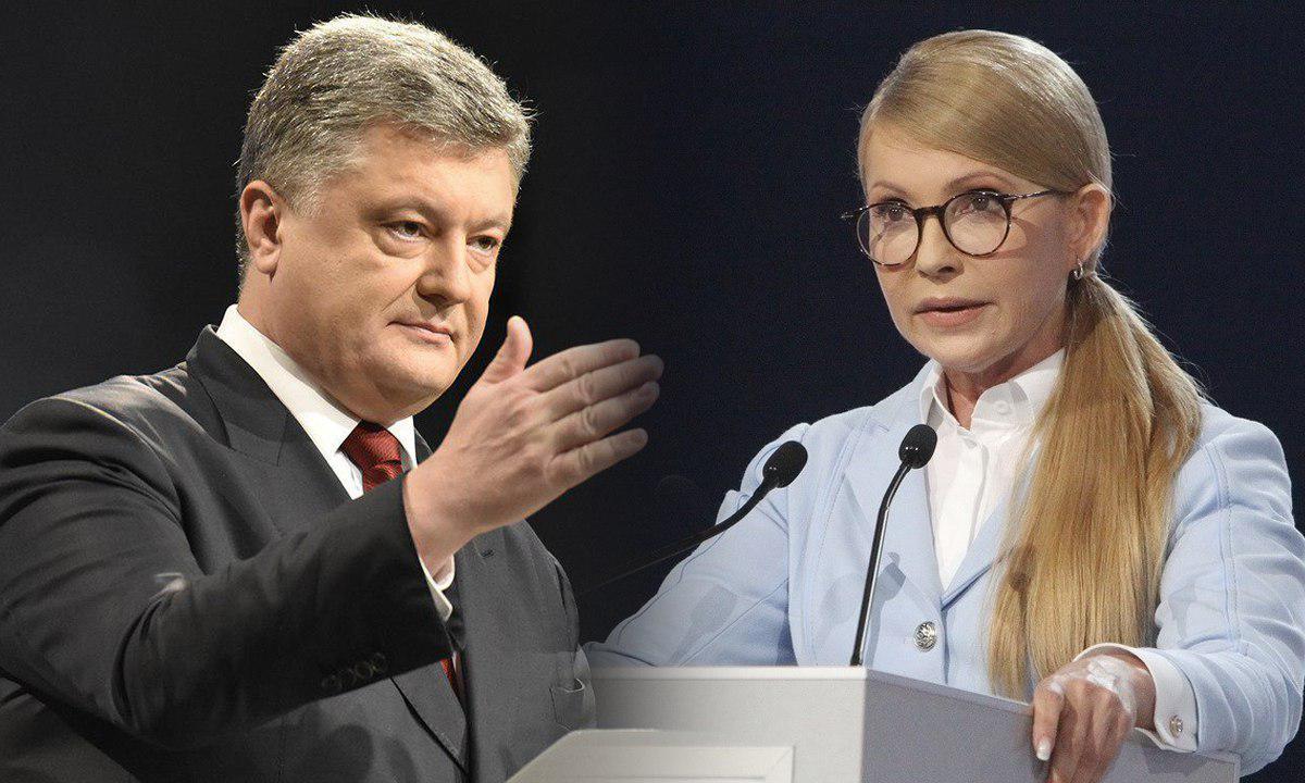 Ни Порошенко, ни Тимошенко не готовы упустить победу на выборах.