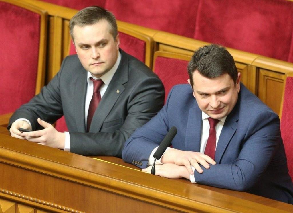 Антикоррупционные органы в украинских реалиях были обречены попасть под политическое давление (слева направо: глава САП Назар Холодницкий, директор НАБУ Артем Сытник)