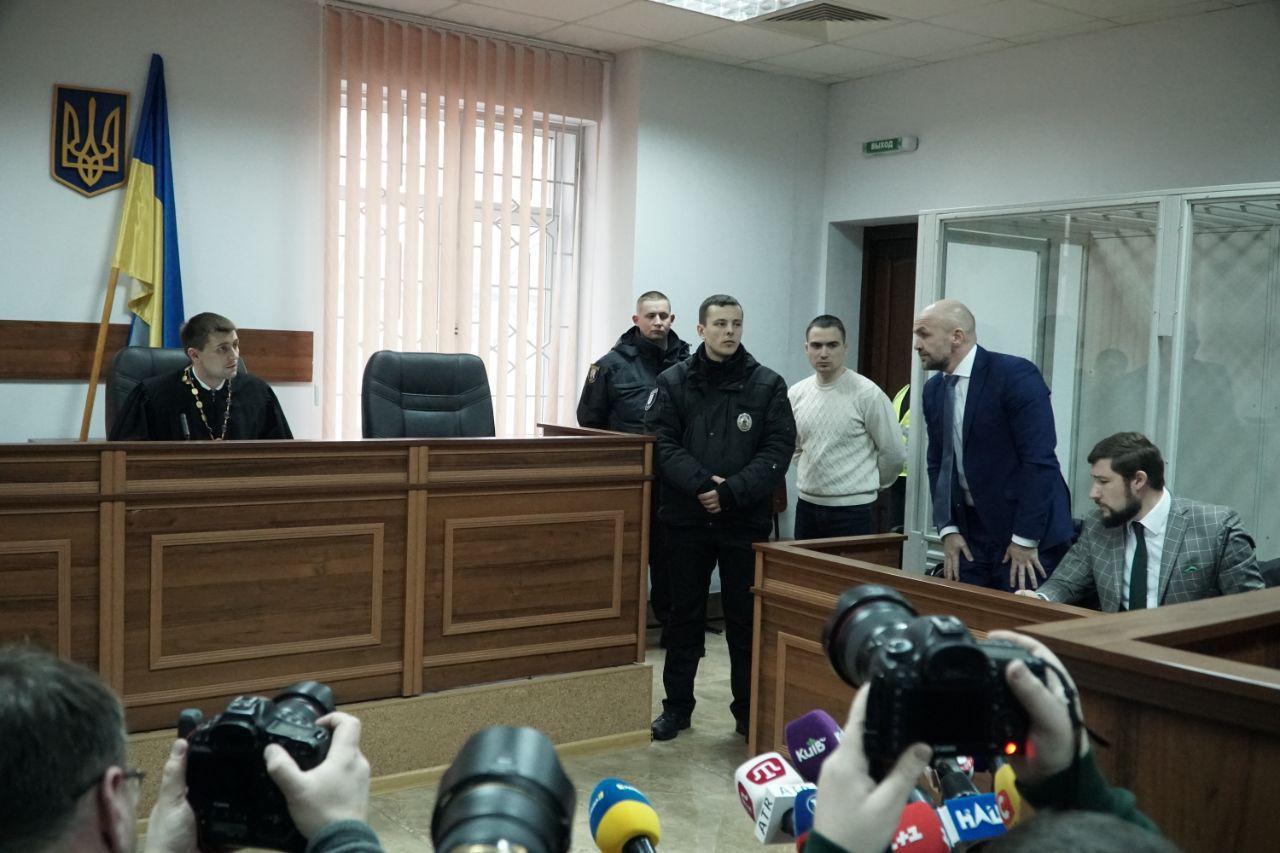 Третий день суд избирает меру пресечения для Владислава Мангера, который, как организатор, проходит по делу об убийстве Гандзюк.