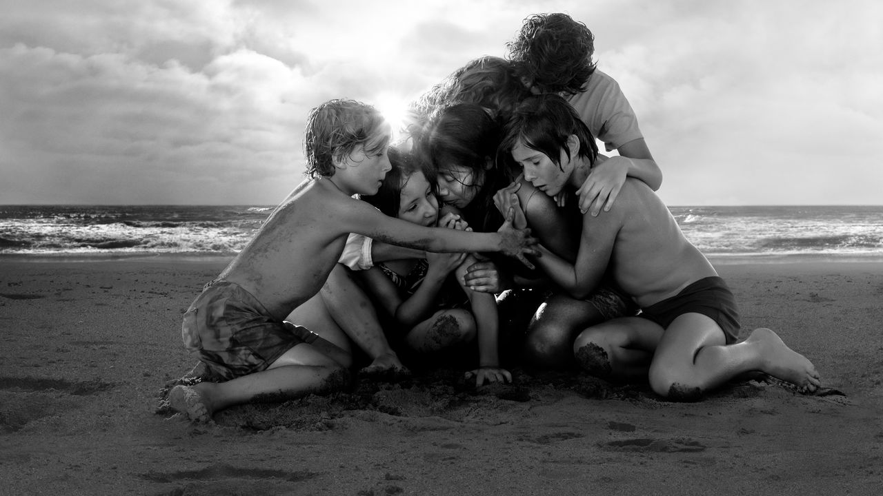 "Кадр из фильма ""Рома"" Альфонсо Куарона"