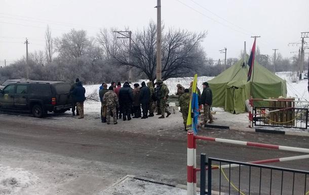 Бокпост в Донецкой обл. (фото из открытого источника)