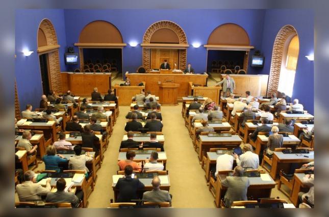 Зал заседания парламента Эстонии
