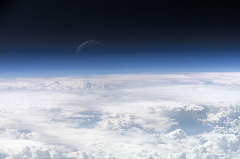 Атмосфера Земли, снимок с МКС / NASA