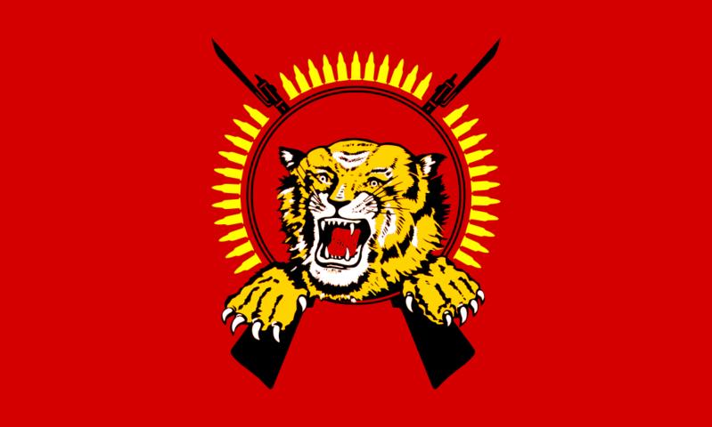 "Флаг ""Тигров Освобождения Тамил-Илама"" / Wikipedia"
