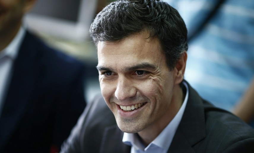 Лидер социалистов Педро Санчес