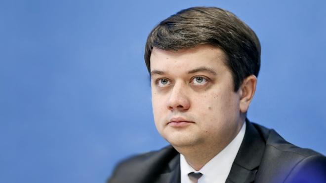 Дмитрий Разумков считает, что проект «Самопомощи» является «попыткой конституционного переворота»