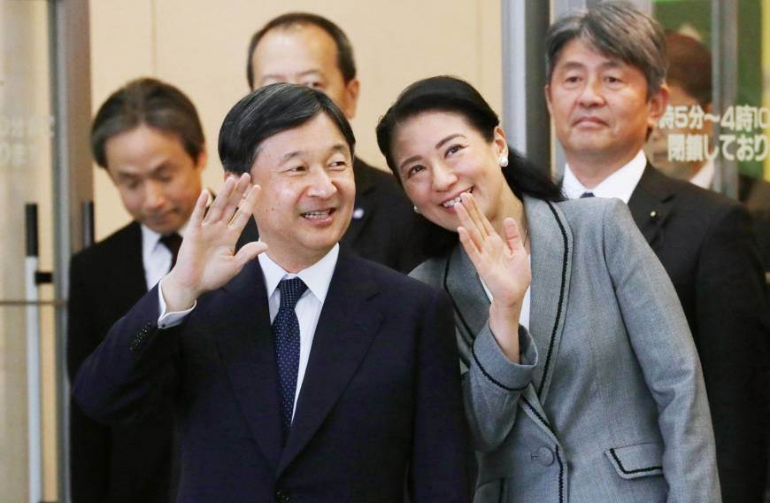 Нарухито с будущей императрицей - выпускницей Гарвардского университета и дипломатом Масако Овадой
