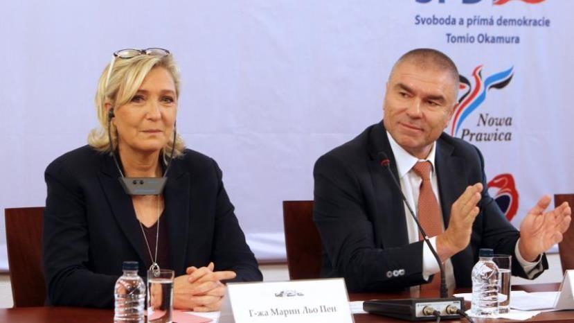 Марин Ле Пен в Софии