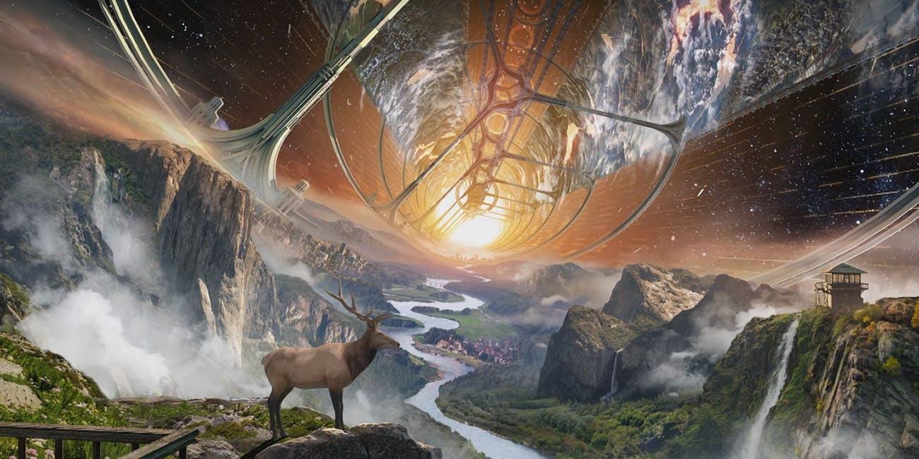 Иллюстрация Blue Origin