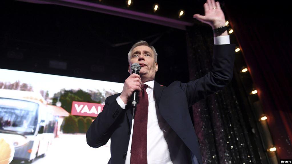 Глава социал – демократов Антти Ринне