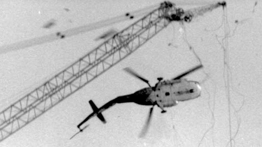 Крушение вертолета МИ-8 над Чернобыльской АЭ в октябре 1986 года