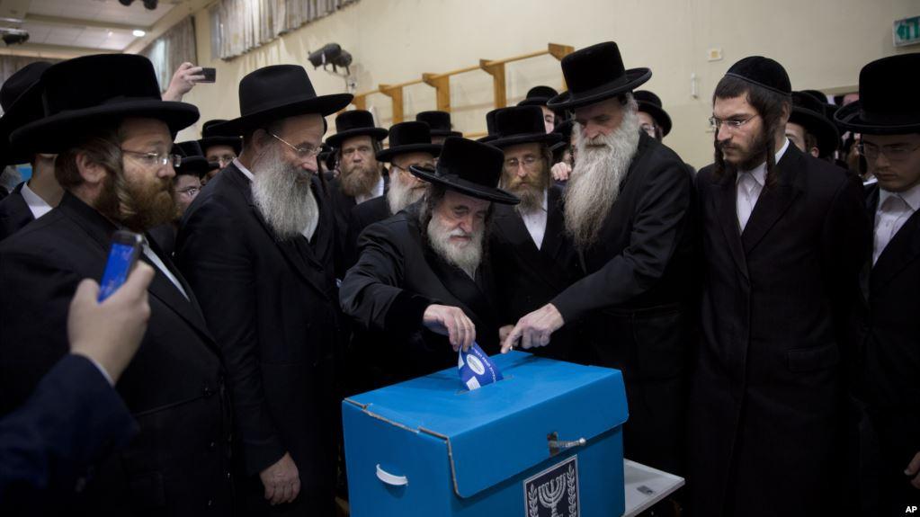 Ортодоксы голосуют против службы в армии