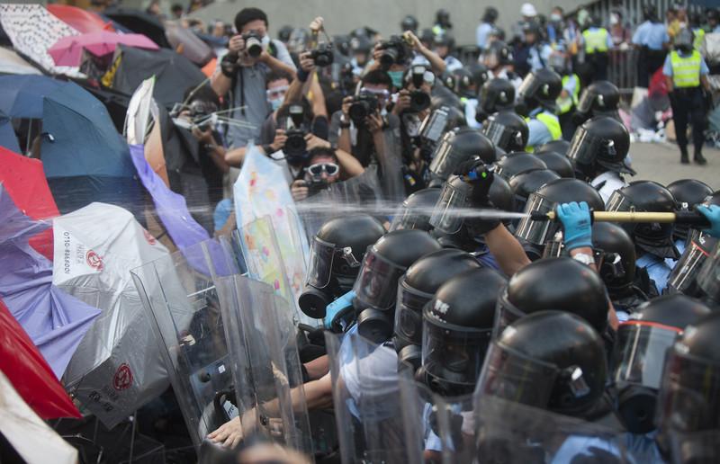 Революция зонтиков в 2014 году