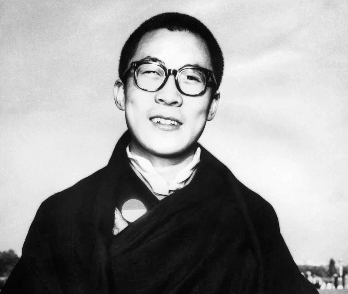 14-й Далай-лама в юности
