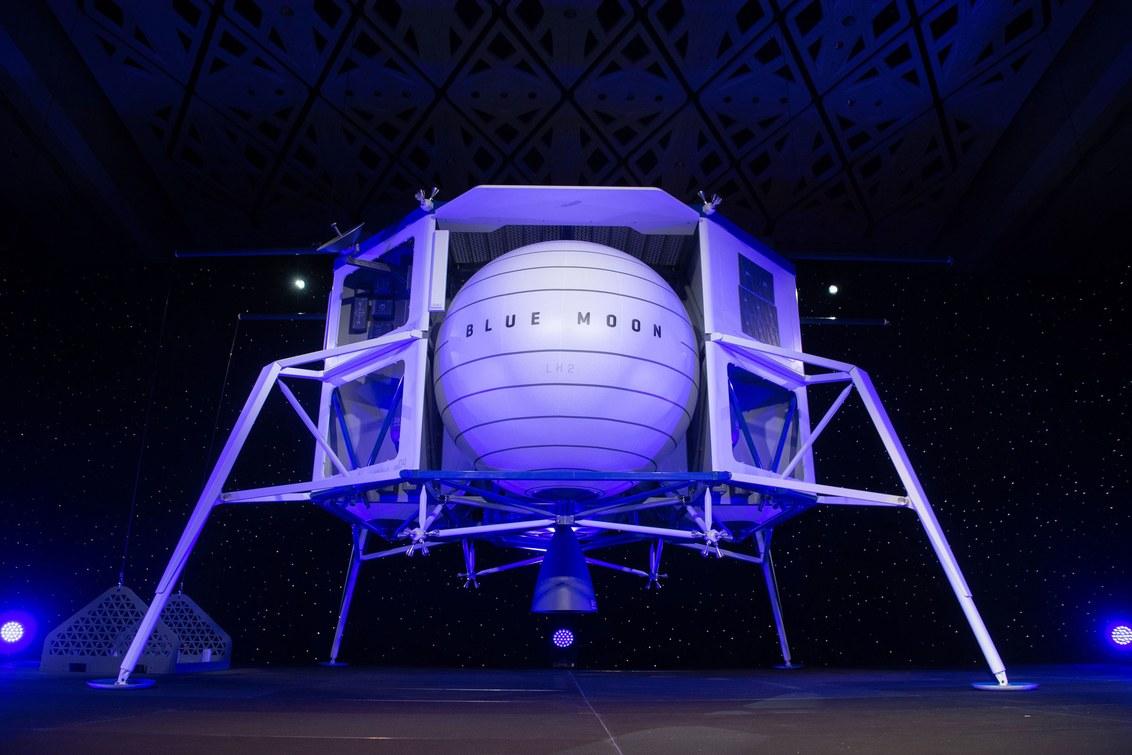 """Прототип посадочного модуля """"Blue Origin"""" все еще не был построен, испытан и отправлен в космос"""