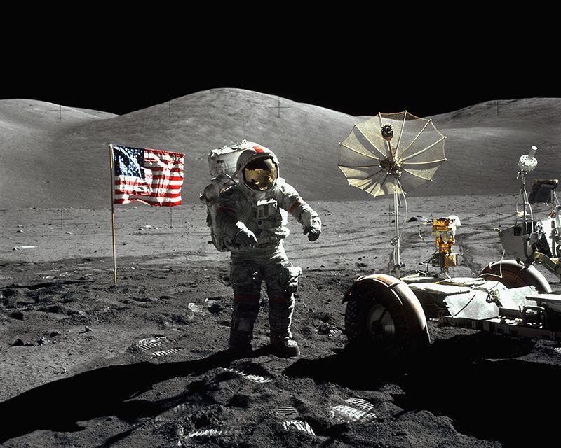 """NASA не разработало лунный посадочный модуль с момента окончания программы """"Аполлон"""" в 1972 году"""
